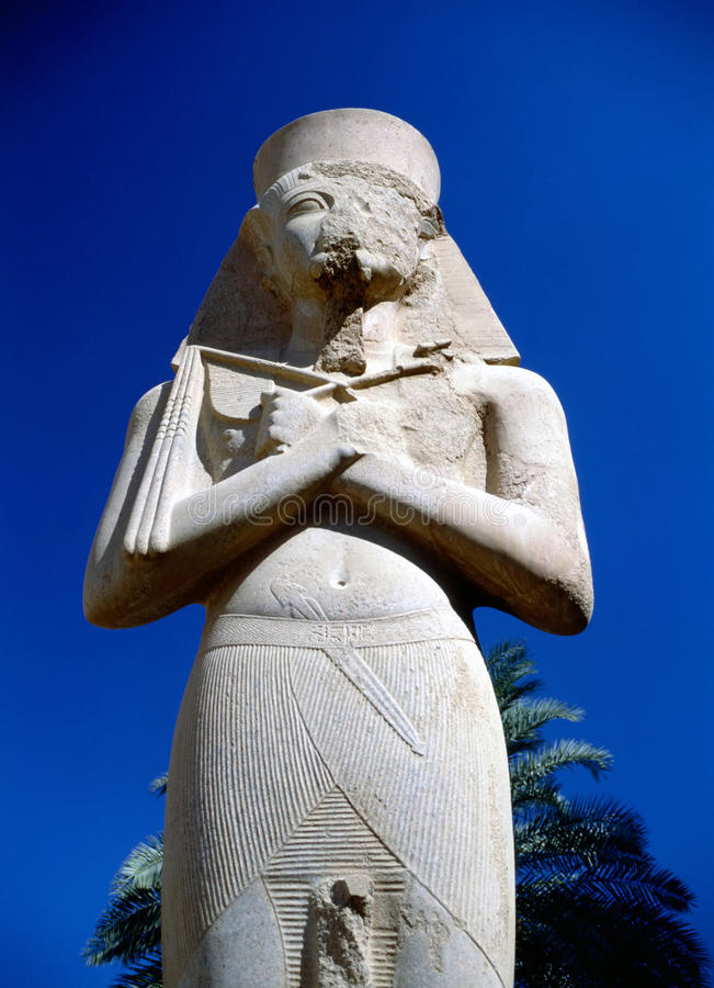 Ramesses II arkivfoto