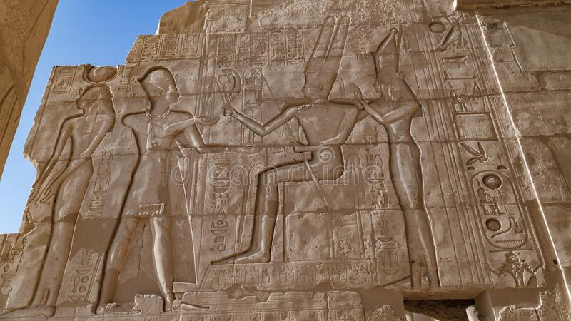 The Ramesseum is the memorial temple or mortuary temple of Pharaoh Ramesses II. It is located in the Theban necropolis in Upper. The Ramesseum is the memorial royalty free stock image