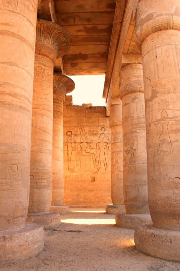 Ramesseum temple, Egypt stock image