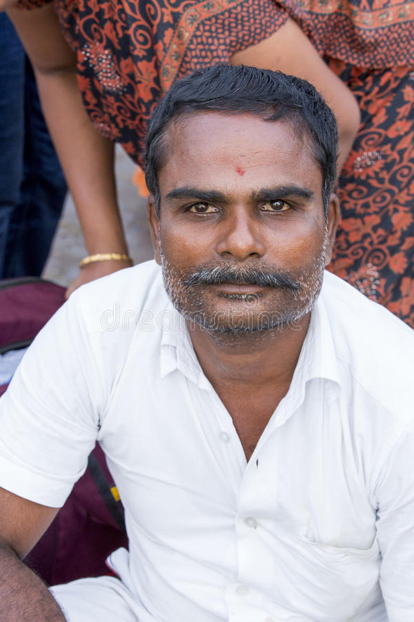 Rameswaram, India - May 25, 2014. Rameswaram, Tamil Nadu, India - May 25, 2014. Full report about Rameswaram pilgrimage, religion Religious city rituals stock photography