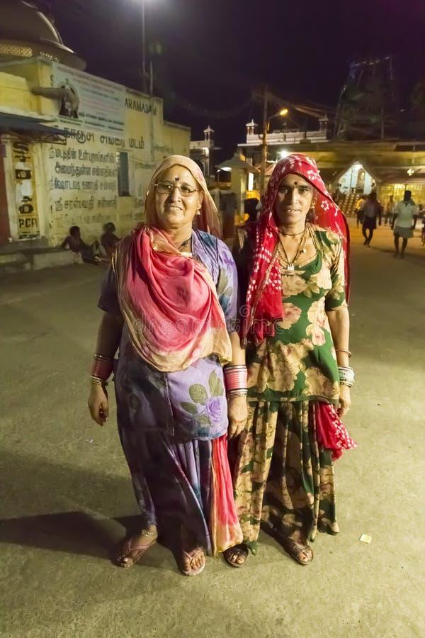 Rameswaram, India - May 25, 2014. Rameswaram, Tamil Nadu, India - May 25, 2014. Full report about Rameswaram pilgrimage, religion. Religious city rituals. Life stock photography