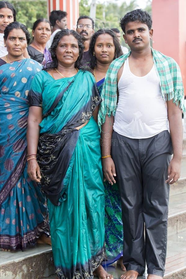 Rameswaram, India - May 25, 2014. Rameswaram, Tamil Nadu, India - May 25, 2014. Full report about Rameswaram pilgrimage, religion. Religious city rituals. Life royalty free stock image
