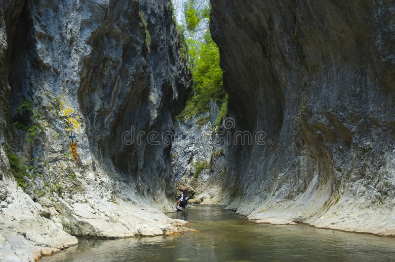 Download The Rametului Gorges stock photo. Image of backpacking - 5932600