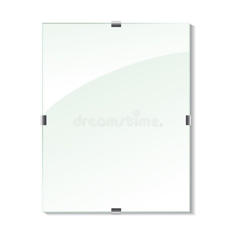 ramexponeringsglasvektor stock illustrationer