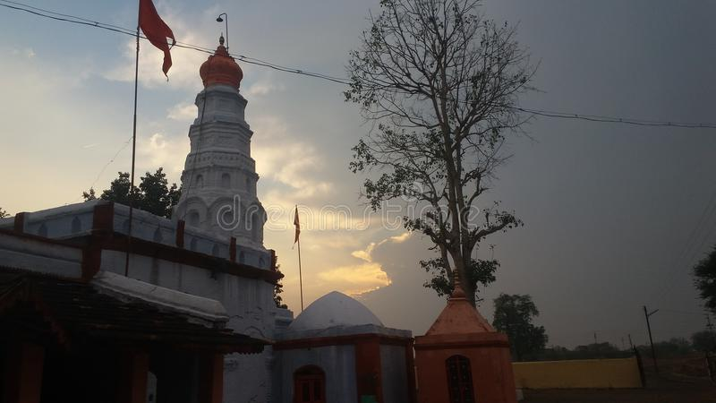 Ramgir temple on india royalty free stock photography