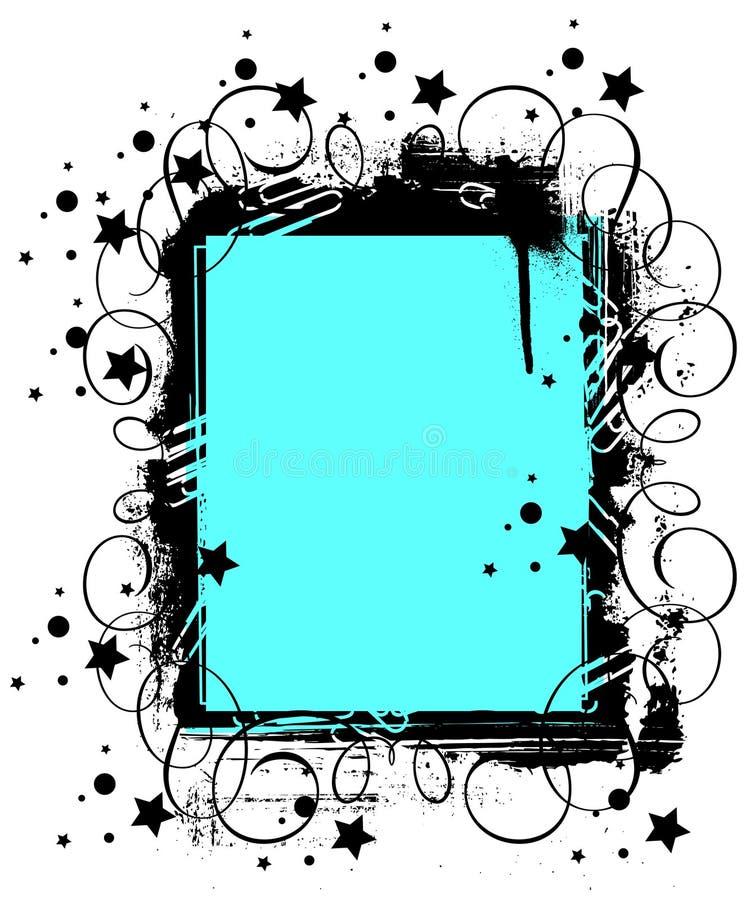 Download Ramgrunge vektor illustrationer. Illustration av element - 19793936