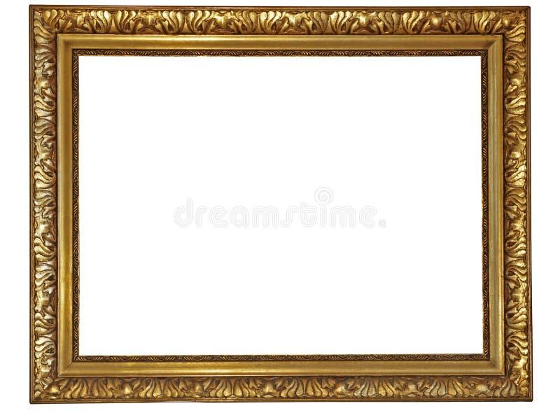 ramguld royaltyfri bild