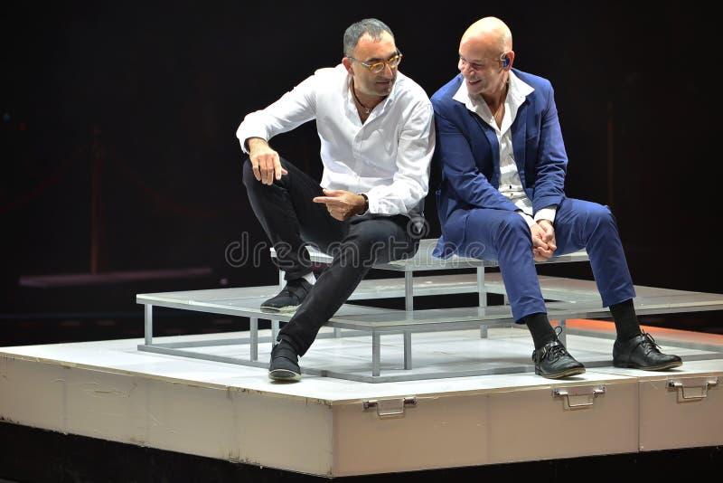 Rami Kleinstein et Israel Katorza photos stock