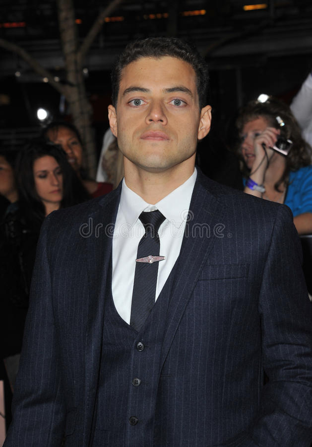 Rami Malek,   photographie stock