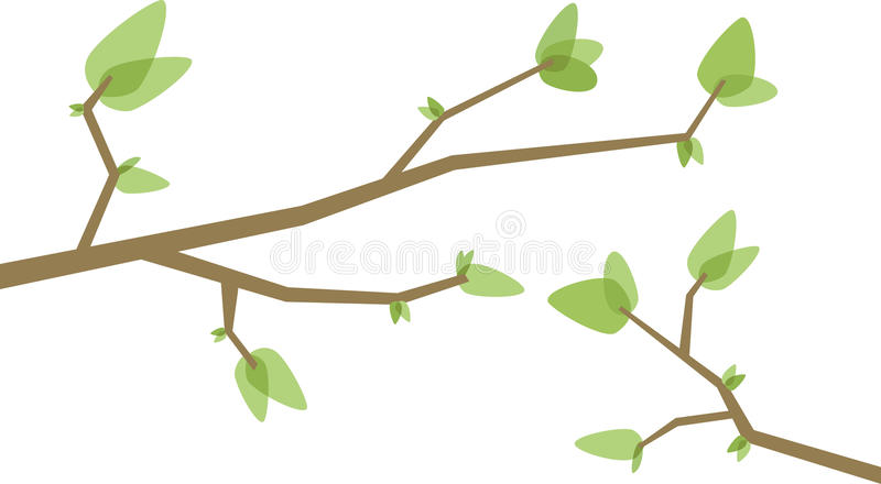 Ramificaciones de árbol libre illustration