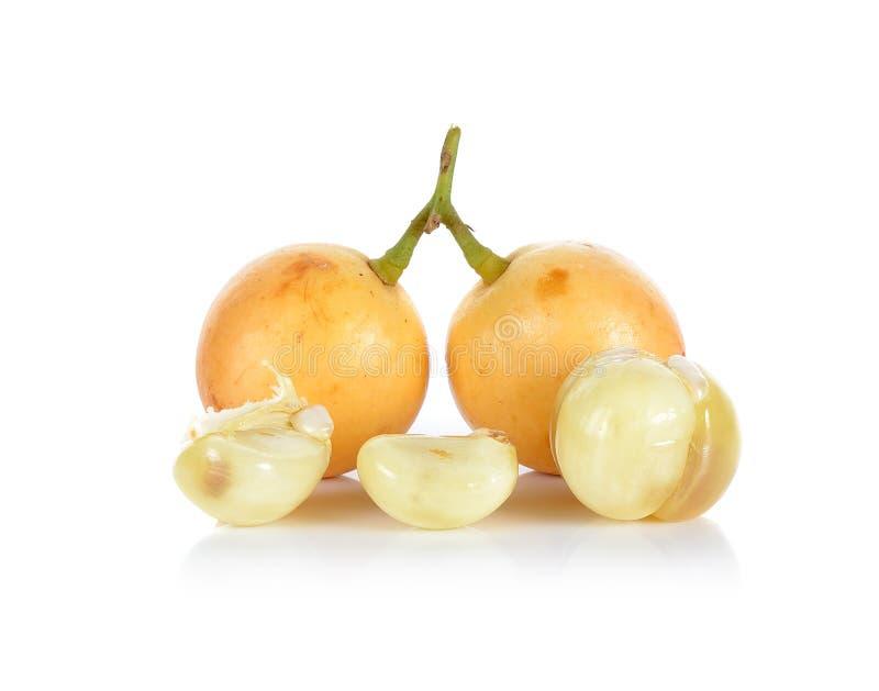 Download Ramiflora Di Baccaurea O Di Mafai Isolato Su Fondo Bianco Fotografia Stock - Immagine di verde, herbal: 55358794