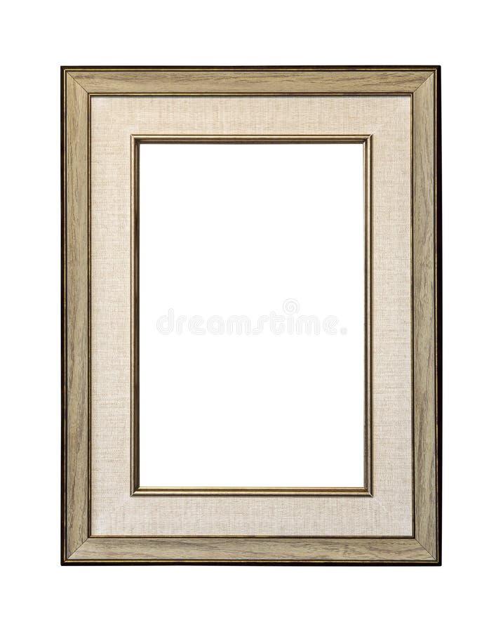 Ramisolat på vit arkivbild