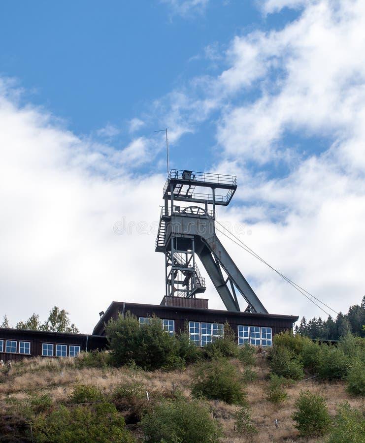 Rammelsberg rudne kopalnie w Niemcy obraz stock
