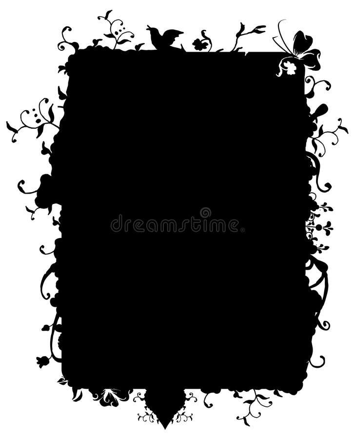 ramnaturvektor stock illustrationer