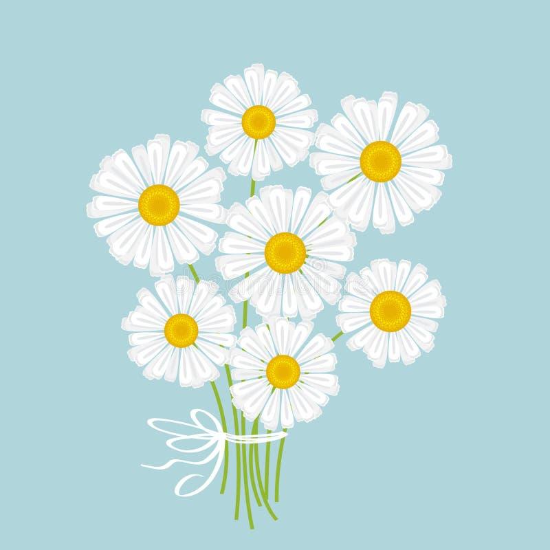Ramo blanco de la manzanilla libre illustration