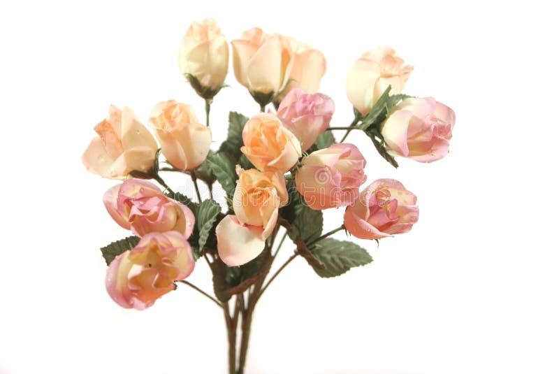 Ramo color de rosa del color de rosa hermoso imagen de archivo libre de regalías