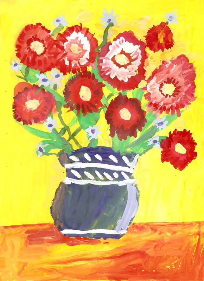 Ramo de flores. stock de ilustración
