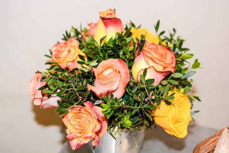 Ramo de flores de la primavera para el símbolo imagen de archivo
