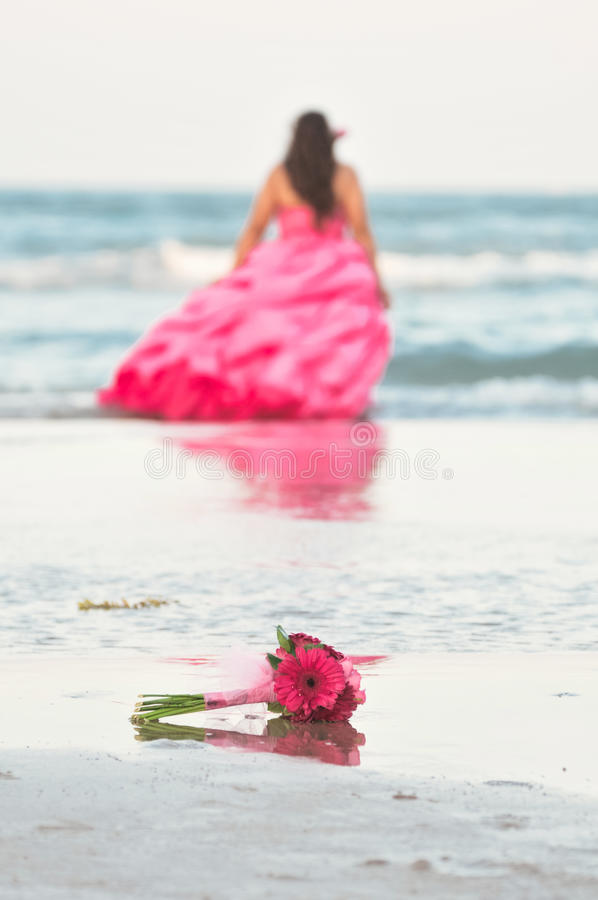 Download Ramo de la flor imagen de archivo. Imagen de pink, playa - 44851323