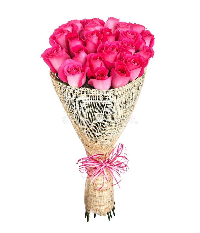 Ramo de la flor de rosas rosadas fotografía de archivo
