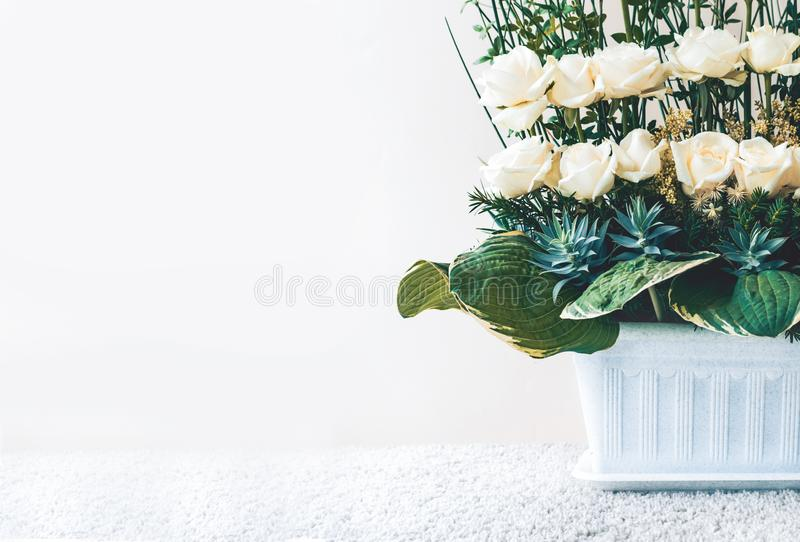 Ramo de la flor en fondo imagen de archivo