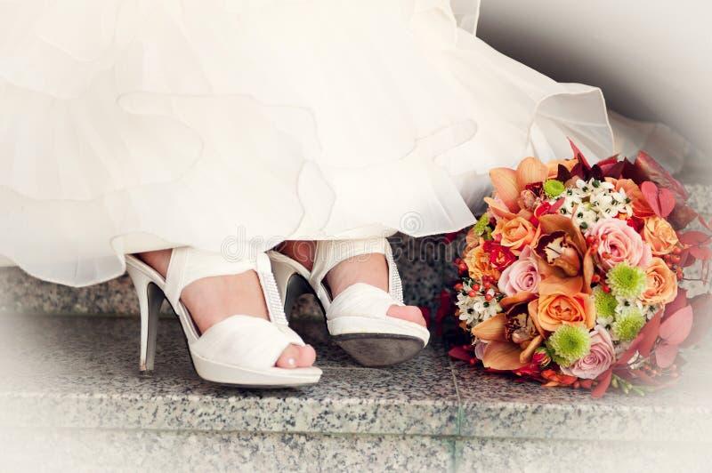 Ramo de la novia fotografía de archivo libre de regalías