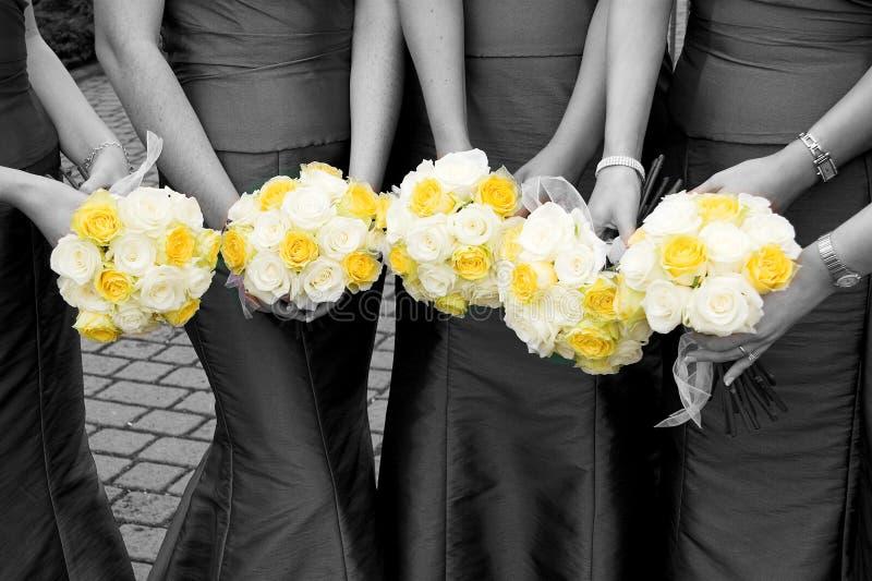 Download Ramo de las damas de honor imagen de archivo. Imagen de manos - 1275593