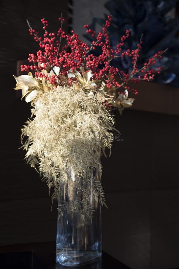 Ramo de lujo de la flor del invierno fotografía de archivo