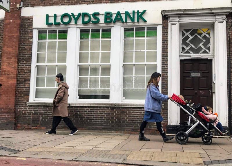 Ramo do Lloyds Bank imagens de stock royalty free