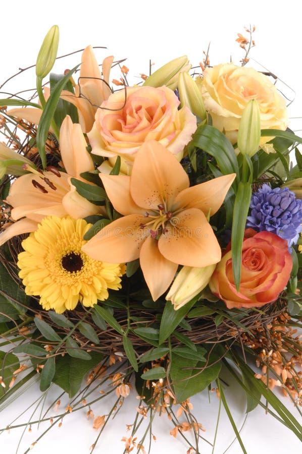 Ramo, manojo de flores imagen de archivo libre de regalías