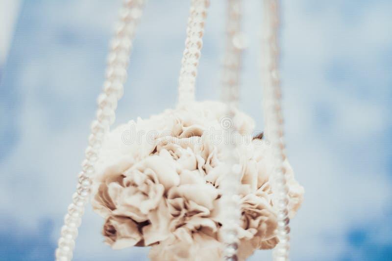 Ramo nupcial, casandose la decoraci?n fotos de archivo