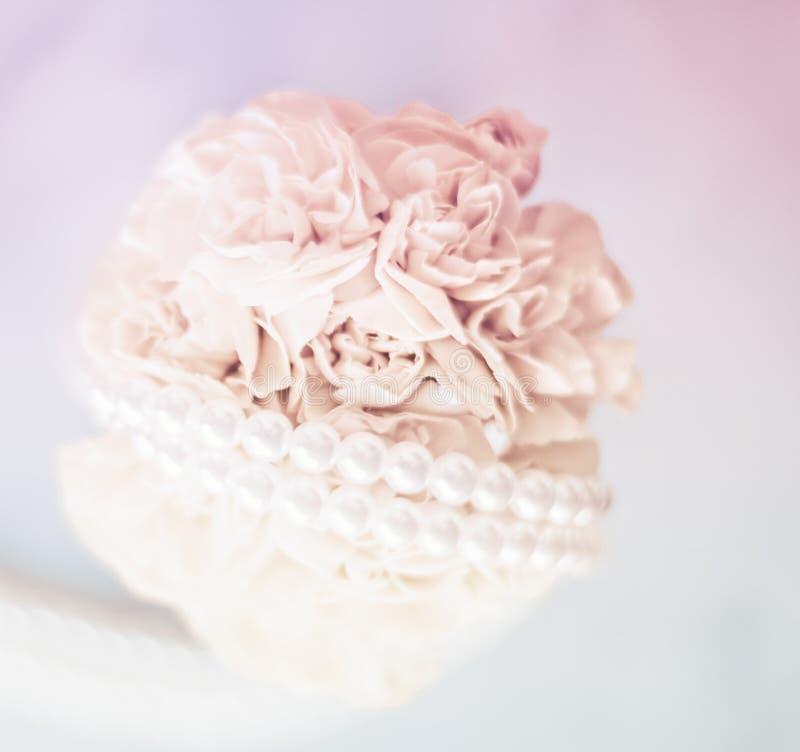 Ramo nupcial, casandose la decoraci?n foto de archivo libre de regalías