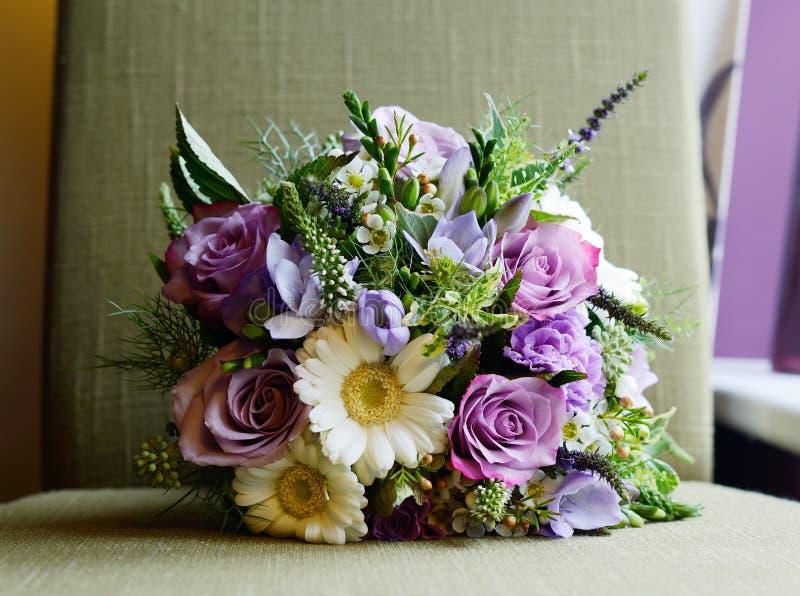 Ramo púrpura imagen de archivo libre de regalías