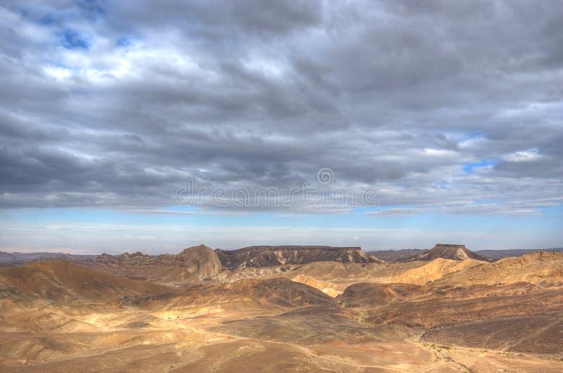 Ramon Canyon, Israel stock photo