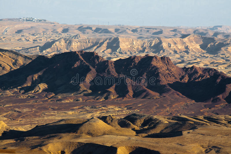 Ramon Crater. royalty free stock image