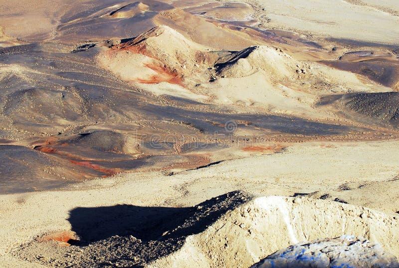 Ramon Crater Makhtesh Ramon - Israele fotografie stock libere da diritti