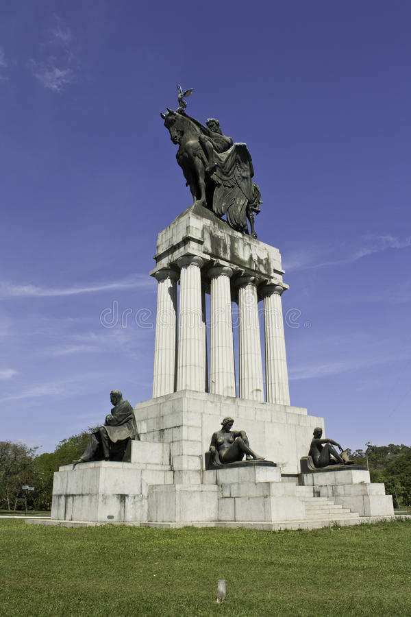 Ramos De Azevedo Monument - USP - Brazil Royalty Free Stock Images