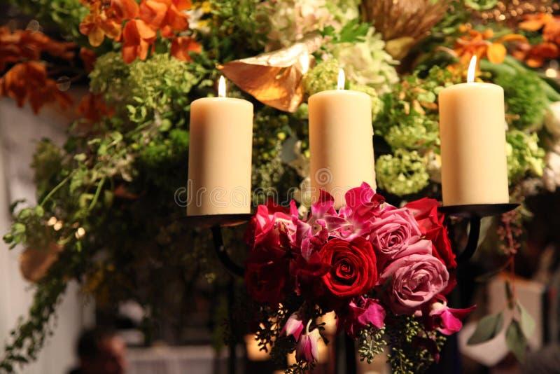 Ramos de la boda imágenes de archivo libres de regalías