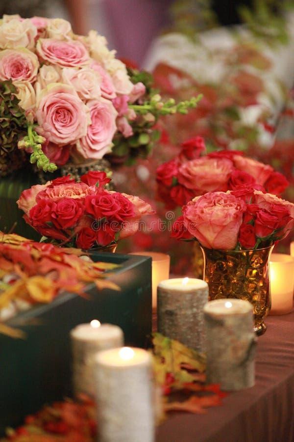 Ramos de la boda fotos de archivo