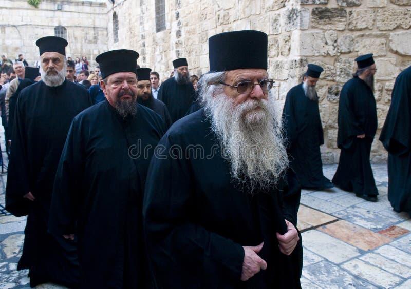Ramos Domingo de Jerusalén fotos de archivo libres de regalías