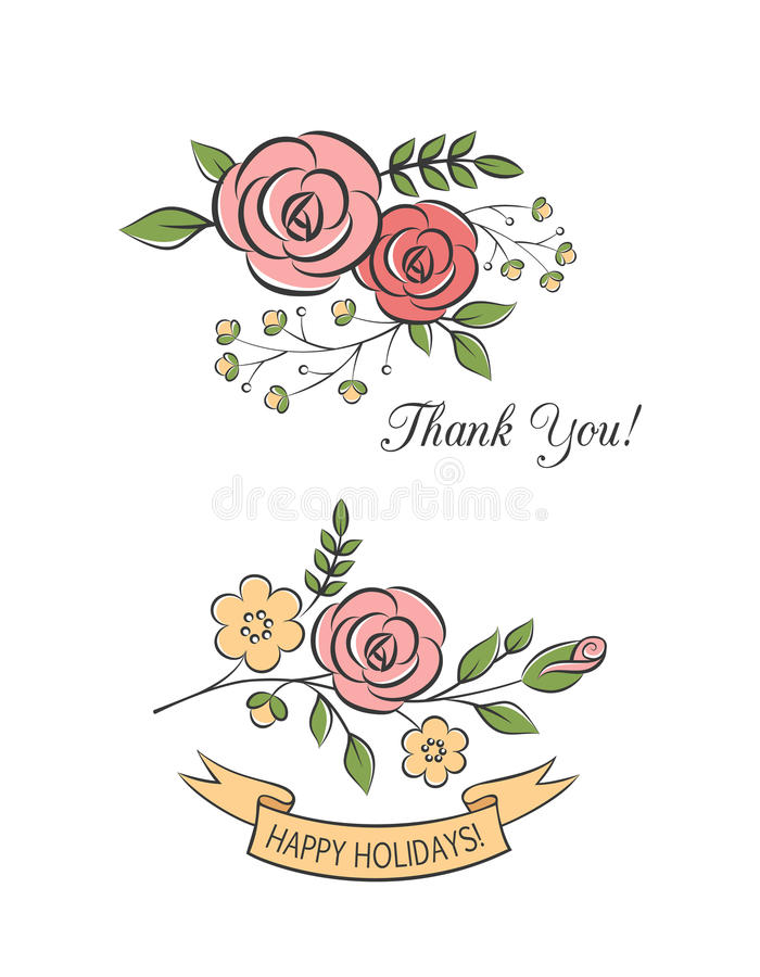 Ramos florales libre illustration