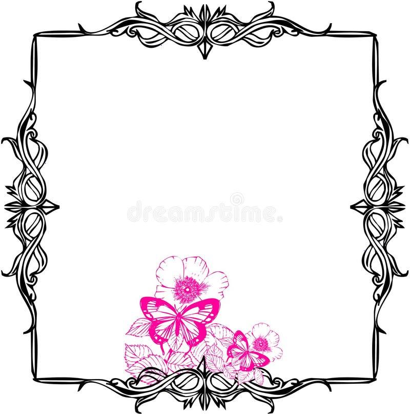 ramowa ślimacznica ilustracja wektor