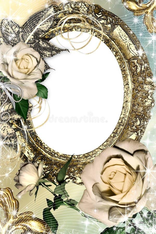 ramowa fotografia royalty ilustracja