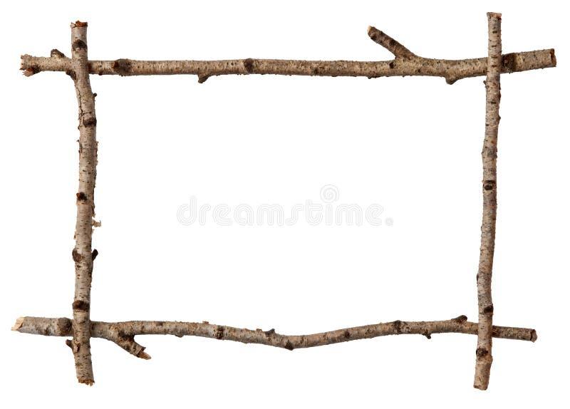 ramowa gałązka obrazy stock
