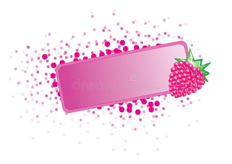 ramowa owoców ilustracja wektor