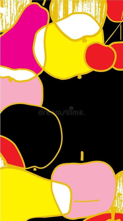 ramowa owoc ilustracja wektor