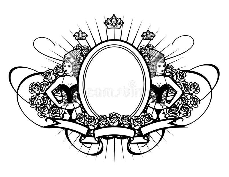 ramowa pożądania royalty ilustracja