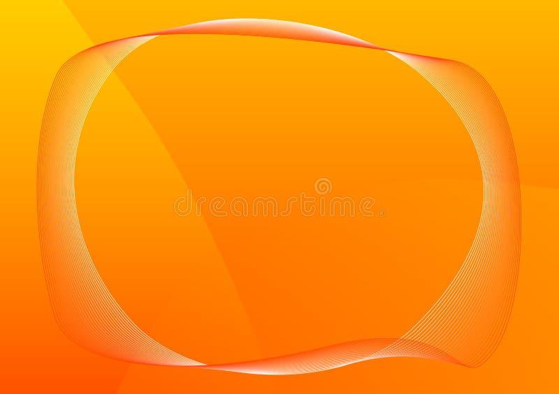 ramowa pomarańcze royalty ilustracja
