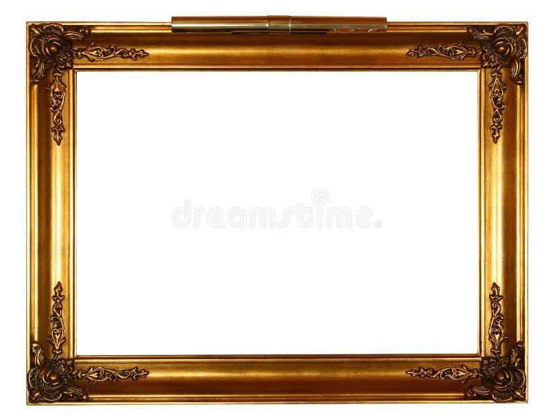 ramowa złota światła zdjęcia stock
