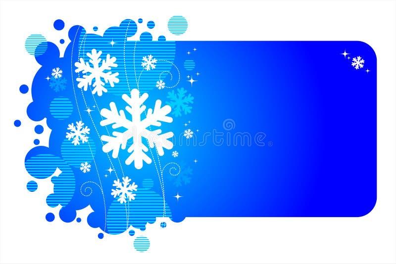 ramowa zima ilustracji